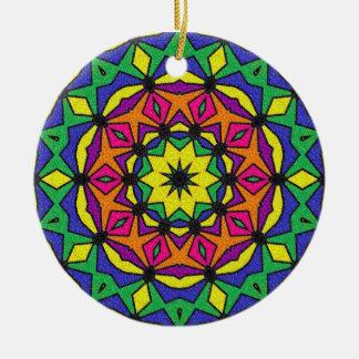 Eternal Round Ceramic Decoration