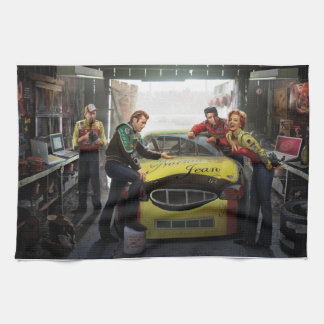 Eternal Speedway 2 Tea Towel