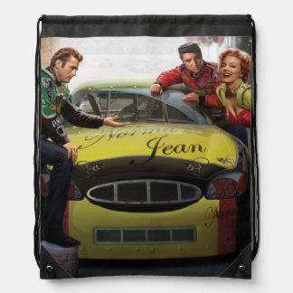 Eternal Speedway Drawstring Bag