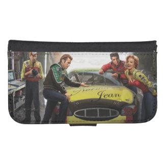 Eternal Speedway Samsung S4 Wallet Case