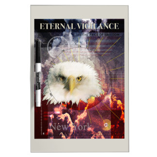 Eternal Vigilance Dry-Erase Whiteboards