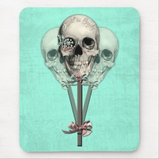 Eternally Sweet lollipop skull. Mouse Pad