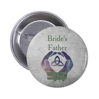 Eternity Bride's Father Pin