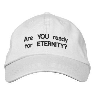 Eternity cap embroidered hat