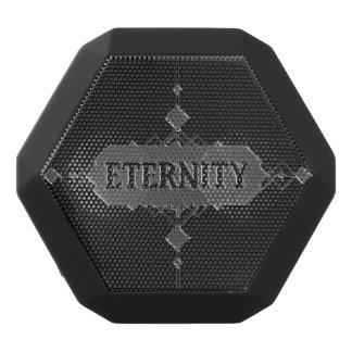 Eternity concept. black bluetooth speaker