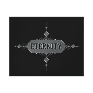 Eternity concept. canvas print