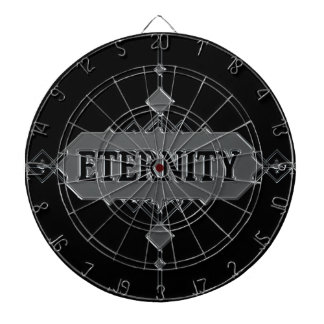 Eternity concept. dartboard