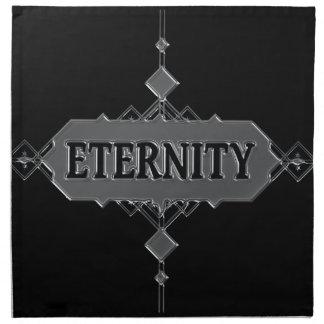 Eternity concept. napkin