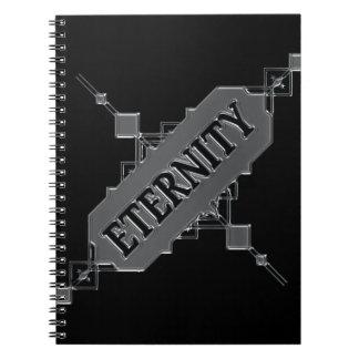 Eternity concept. notebook