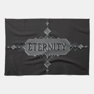 Eternity concept. tea towel