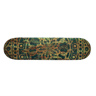 Eternity Mandala Weathered 21.6 Cm Old School Skateboard Deck