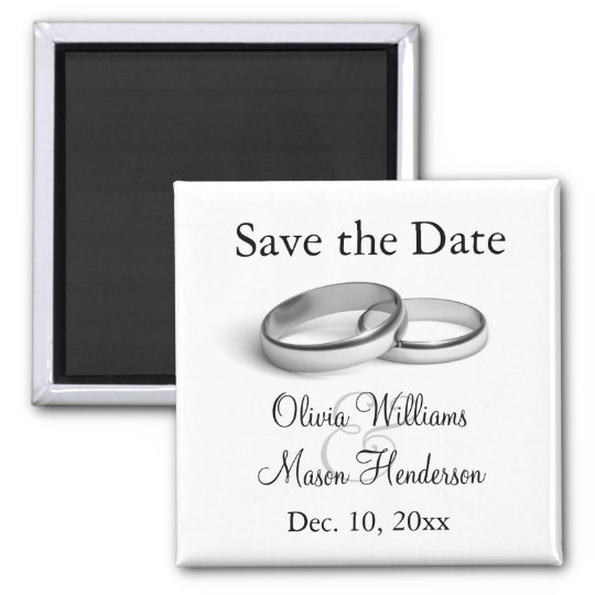 Eternity Save the Date Magnet
