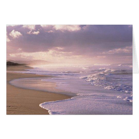 Eternity, Scenic Beach Sunset Card