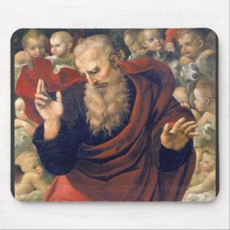 eterno e angeli by Raffaello Sanzio da Urbino Mousepads