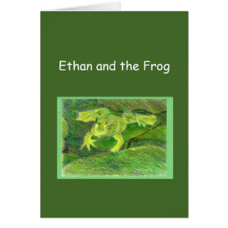 Ethan and the Frog Little Adventure Template