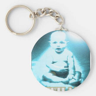 Ethan Basic Round Button Key Ring