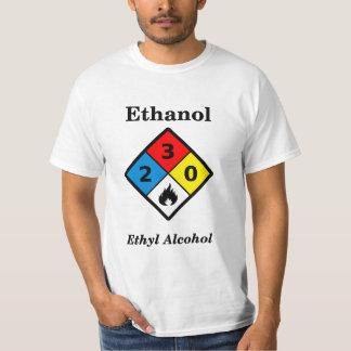 Ethanol MSDS Label Shirt