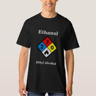 Ethanol MSDS Label T Shirts
