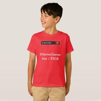 EthanxxGamer boy / EXGB - Youtube product T-Shirt