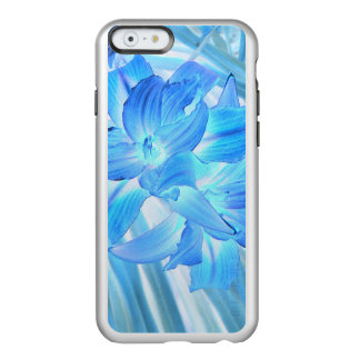 Ethereal Blue Lily, Winter Floral Fantasy Incipio Feather® Shine iPhone 6 Case