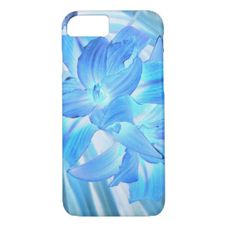 Ethereal Blue Lily, Winter Floral Fantasy iPhone 8/7 Case