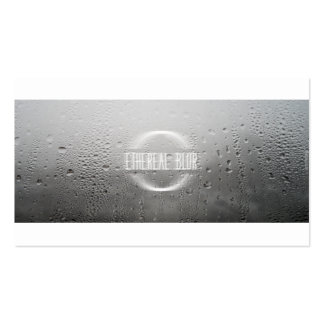 ethereal blur business card