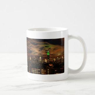 Ethereal Clouds: NYC Skyline, Empire State Bldg Coffee Mug