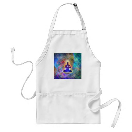 ethereal contemplation - apron