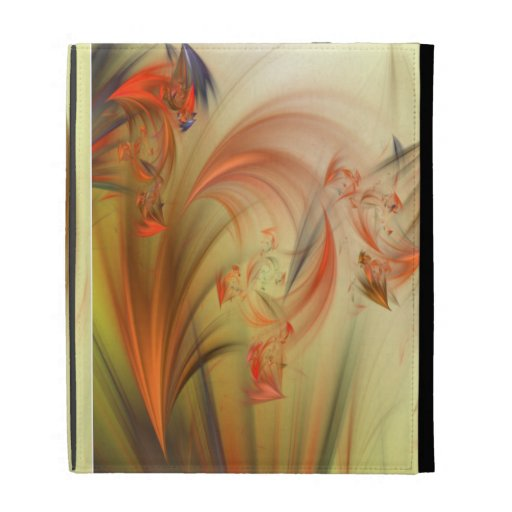 Ethereal Fractal iPad Folio Cover