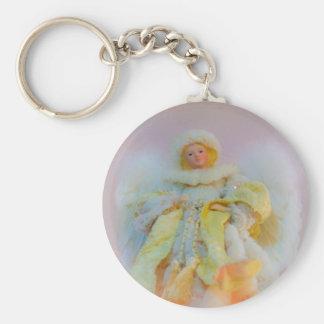 Ethereal Guardian Angel Key Chain