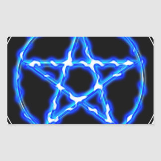 Ethereal Pentacle Rectangular Sticker