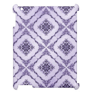 Ethereal Purple and Lavender Fractal Design Case For The iPad 2 3 4