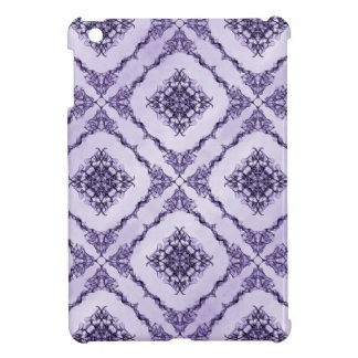 Ethereal Purple and Lavender Fractal Design iPad Mini Covers