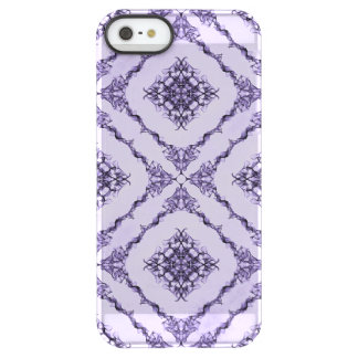 Ethereal Purple and Lavender Fractal Design Permafrost® iPhone SE/5/5s Case