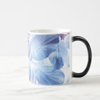 Ethereal Winter Purple and Blue Flora Magic Mug