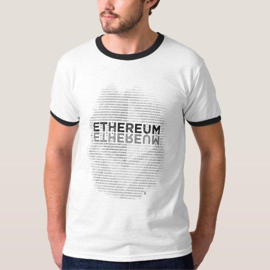 Ethereum Binary Men's Basic Ringer T-Shirt