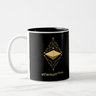 Ethereum Classic made of Gold Two-Tone Coffee Mug