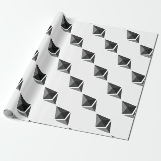 Ethereum Logo Only Wrapping Paper