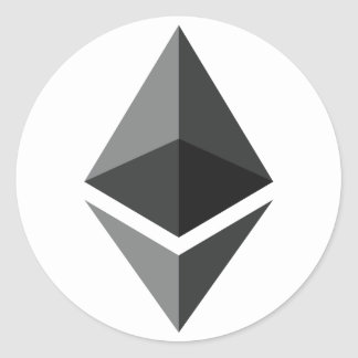 Ethereum Logo Sticker