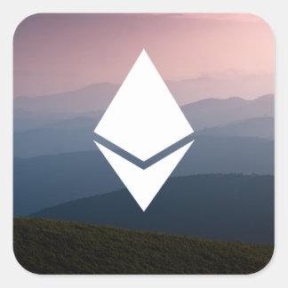 Ethereum Square Sticker