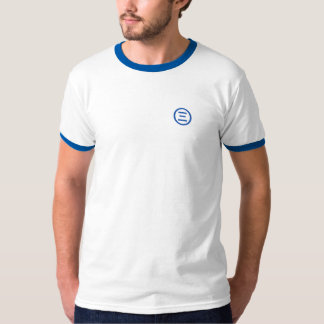 Ethereum Symbol (royalblue) double sided T-Shirt