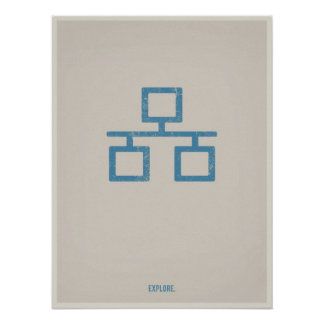 Ethernet minimalistic poster