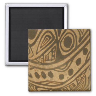 Ethic Museum Bowl Design Square Magnet