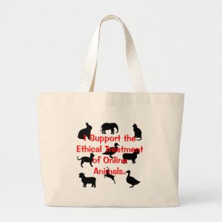 Ethical Treatment Tote Bag