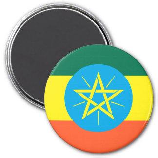 Ethiopia 7.5 Cm Round Magnet