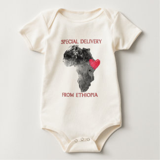Ethiopia Adoption Baby Bodysuit