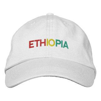 Ethiopia - Custom Ethiopia Hat Embroidered Baseball Cap