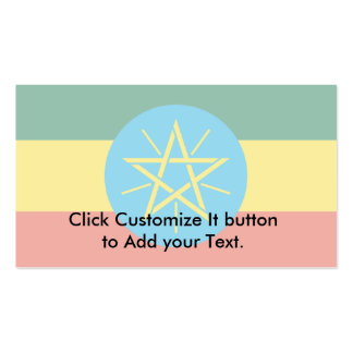Ethiopia, Estonia flag Business Card Templates