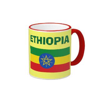 Ethiopia* ET Code Flag Mug