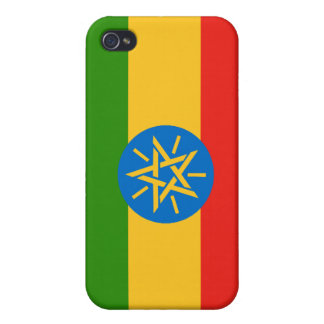 Ethiopia Ethiopian nation flag  Case For The iPhone 4